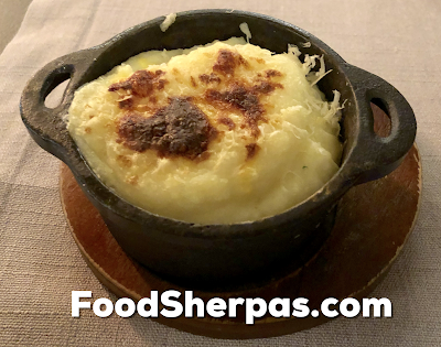 Pure de Papas gratinado from Carnal in Santiago, Chile