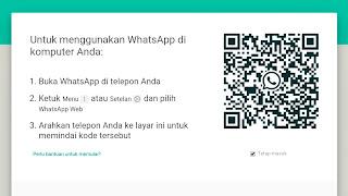 Cara Login dan Logout WhatsApp Web