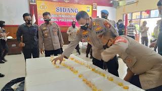Divisi Propam Polri Sidak Ke Polres Gowa, Kabag Binplin : Angota Polri Harus Ikuti Aturan Yang Ditetapkan