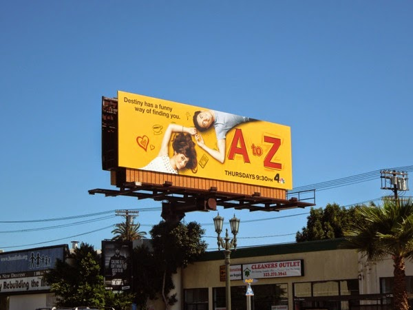 A to Z series launch billboard