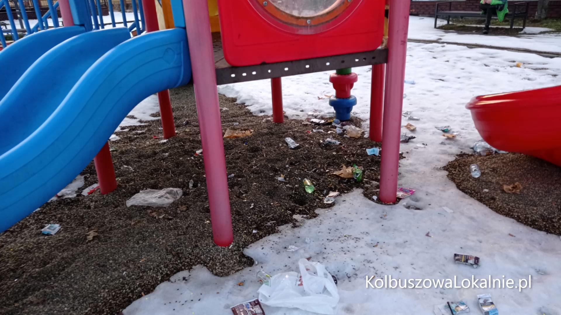Ogródek Jordanowski w śmieciach [FOTO, WIDEO]