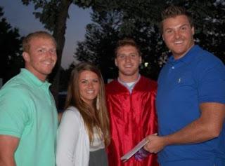 Drew Ann Reid with her siblings