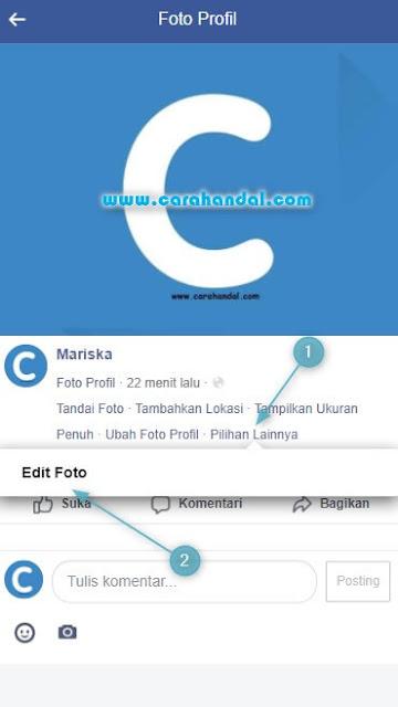 Cara Menghapus Foto Profil Facebook di HP dengan Cepat