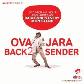 Airtel ovajara unlimited data bundles