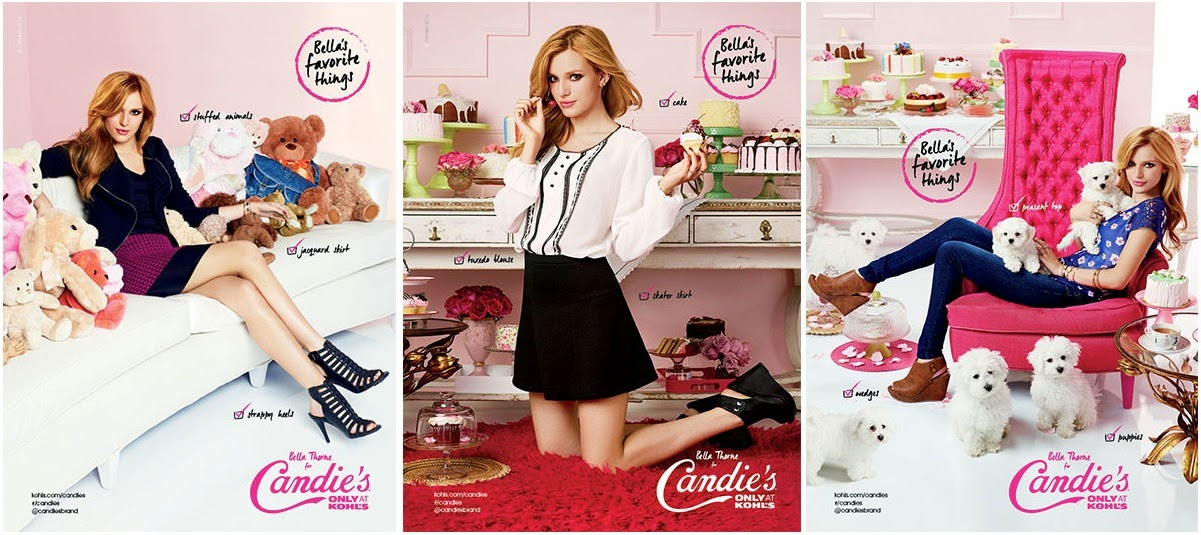 Bella Thorne for Candie's Fall 2014 Campaign