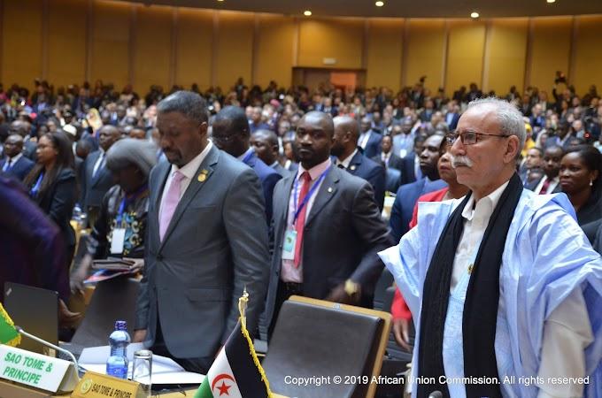 La RASD cuenta con el apoyo de la UA para contrarrestar la apertura de consulados en el Sáhara Occidental.