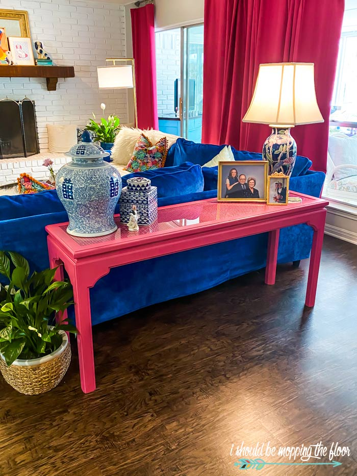 Ethan Allan Couch Table