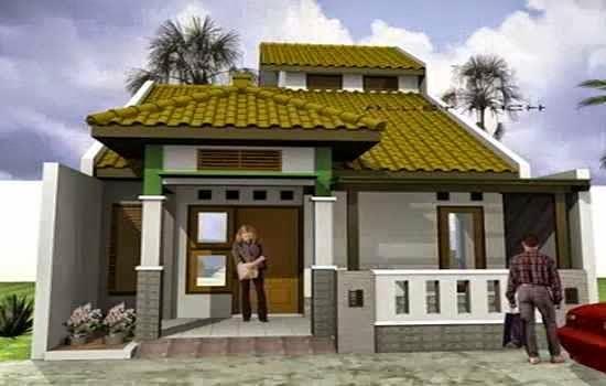 model atap teras depan rumah