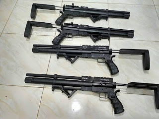 senapan angin model m4a4