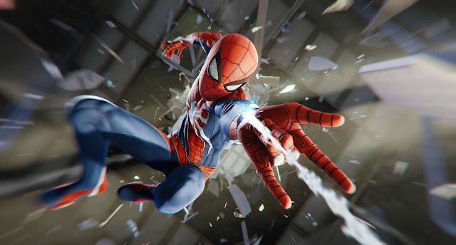 شاهد بالفيديو دقائق من داخل لعبة Spider-Man و جولة في عالمها الرائع بحرية مطلقة ، شيء رهيب حقا ..