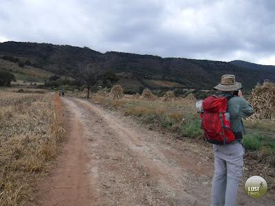 Dejando la parte alta de Cerro Viejo atrás
