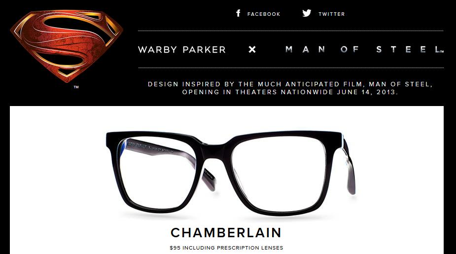 5a34affa6b Las gafas de Clark Kent en El Hombre de Acero – Mundo Superman
