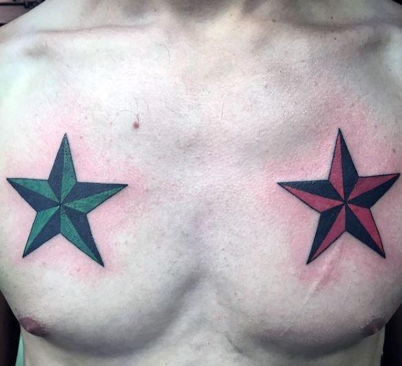 star Tattoos For Men