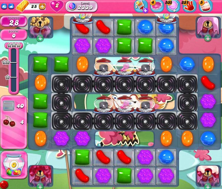 Candy Crush Saga level 2339