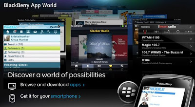 BlackBerry appworld Update All feature