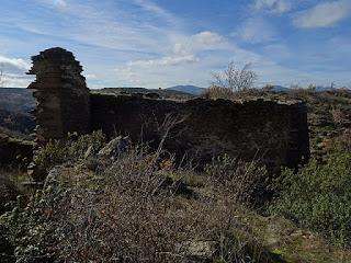 Malacate de la mina de Malanoche