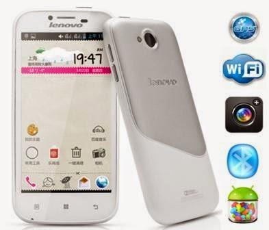 gambar smartphone murah lenovo A706 kamera 5mp