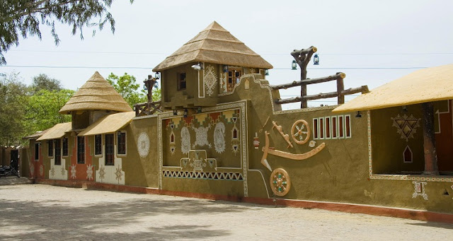 Enjoy the authentic cuisine of Rajasthan at Chokhi Dhani