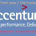 Accenture Bangalore Hiring Graduates Undergraduates for Process Associate