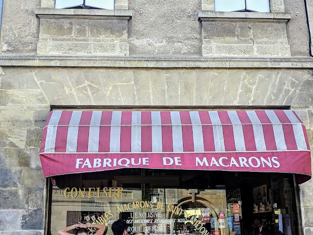 Bordeaux to St. Emilion: fabrique de macarons