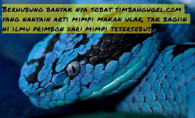 arti mimpi makan ular lengkap