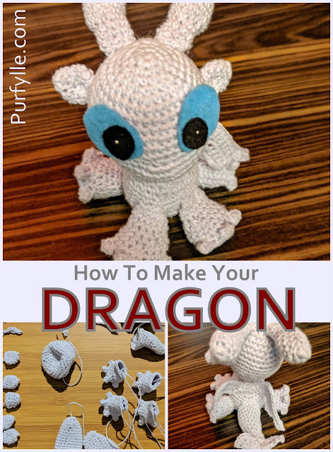 How To Make Your Crochet Dragon