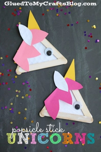 How to make an easy unicorn craft for preschoolers