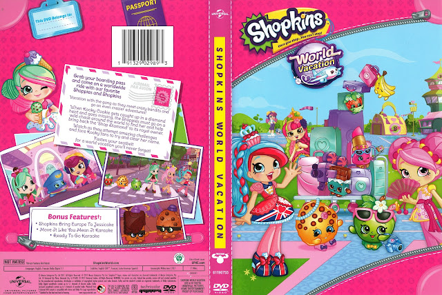 Shopkins World Vacation DVD Cover