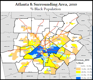 Modern-day segregation, Atlanta GA