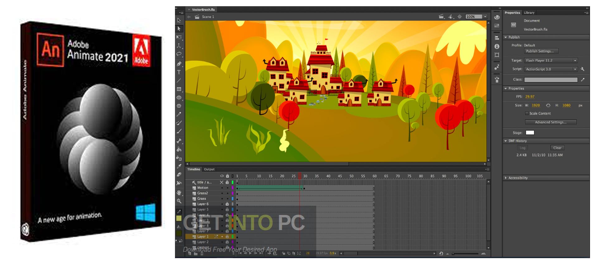 Cara Install Adobe Animate CC 2021 Full Version