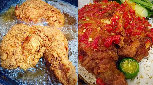 Anda Kena Cuba Ni. Resepi Ayam Geprek Disukai Ramai