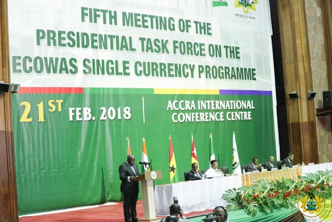 """ECOWAS Single Currency Will Boost Trade & Economic Activity"" – President Akufo-Addo"