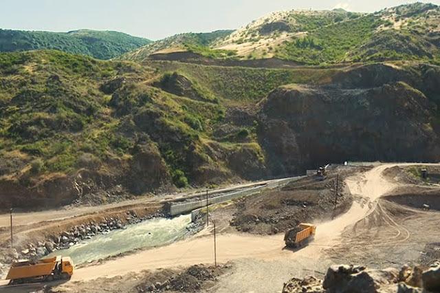 Conectan a Artsakh y Armenia por una nueva autopista