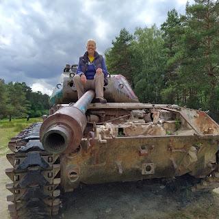 lostplace tank militair terrein geocache mulicache
