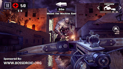 Download Dead Trigger Mod v1.2.0 APK + Data OBB Terbaru