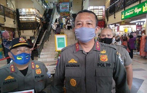 Operasi Yustisi Prokes, Satpol PP Kota Bandung  Menjaring 1.130 Pelanggar