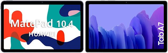 Huawei MatePad 10.4 vs Samsung Galaxy Tab A7 10.4 (2020)