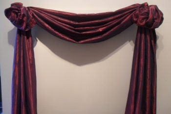 Good The Third Great Way To Hang Your Scarf Swag Curtains Curtains Design
