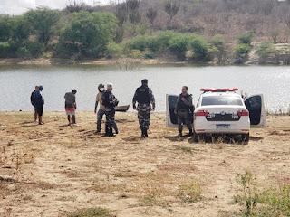 Corpo de jovem que desapareceu em açude, em Barra de Santa Rosa, é resgatado