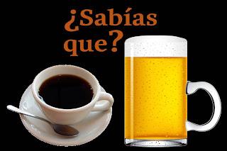cerveza y cafe