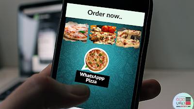 صورة لتطبيق واتساب الخاص ب بيتزا واتسب