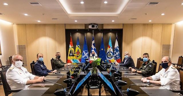 Εγκαίνια Αίθουσας Συμβουλίου Αρχηγών Γενικών Επιτελείων (ΦΩΤΟ)