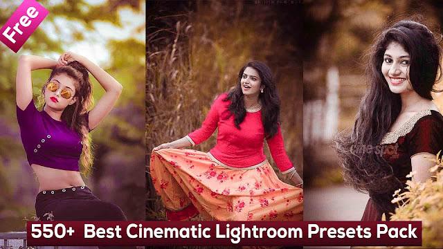 Best Cinematic Lightroom Presets Pack - 550+ Free Lightroom Presets