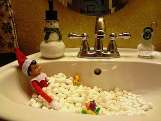 Sweetfunkyvintage 25 Christmas Crafts Elf On The Shelf