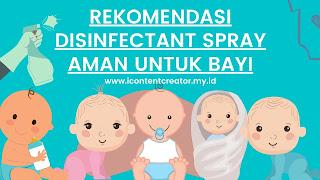 disinfectant spray kids friendly