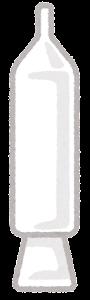 チョコペンのイラスト(ホワイトチョコレート)