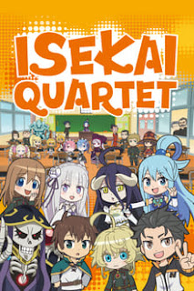 Isekai Quartet Season 1 & 2 Batch [Eps. 01-12] Subtitle Indonesia