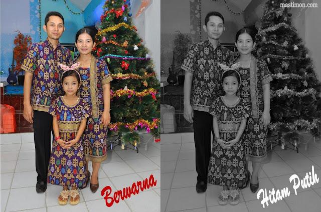 Cara merubah Foto berwarna ke Hitam Putih dengan Adobe Photoshop