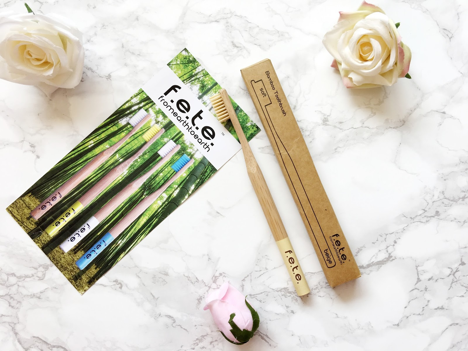 From Earth to Earth Bamboo Toothbrush