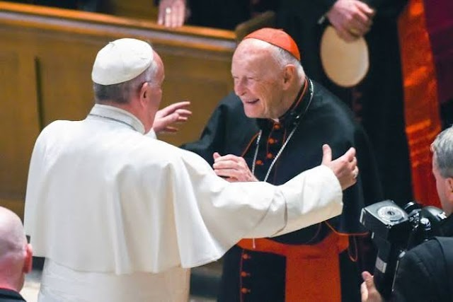 After 100 Years, Vatican loss one U.S cardinal for Soliciting S*x